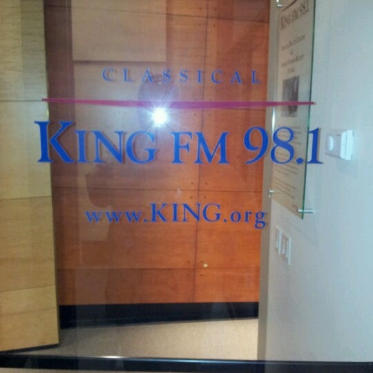 Photos at 98 1 Classical KING FM - Radio Station in Seattle