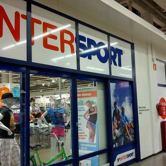 Yhteistyökumppanuus Intersport Koskikeskuksen kanssa laajenee