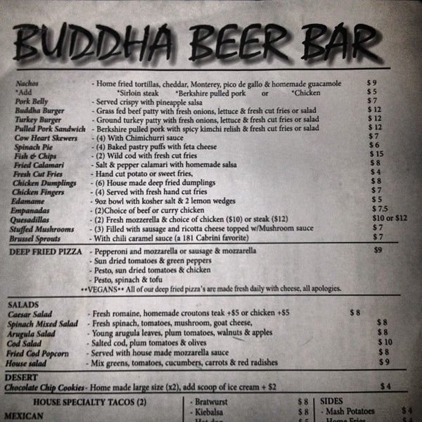 Photo prise au Buddha Beer Bar par Jeffrey Kyze Commission A. le6/9/2012