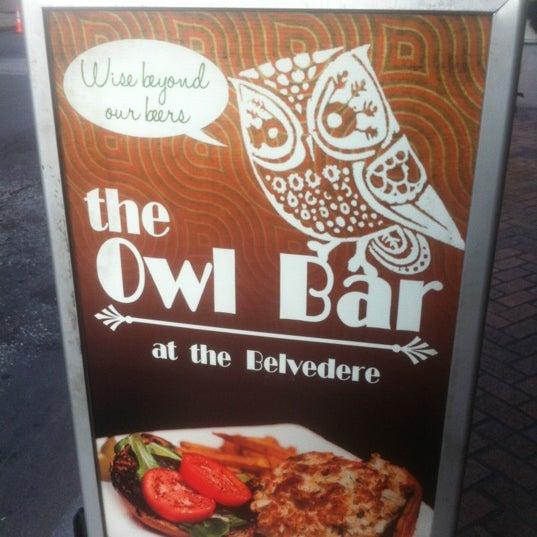 Снимок сделан в The Owl Bar пользователем Angela C. 8/29/2012