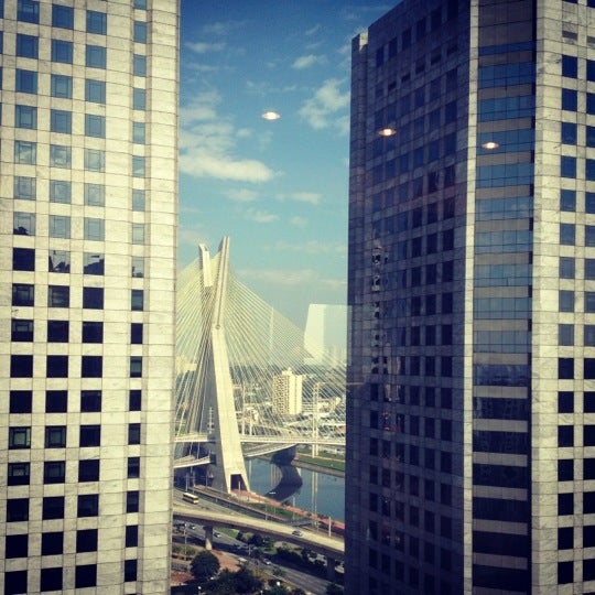 Foto scattata a Sheraton São Paulo WTC Hotel da Ana Carolina Rossi B. il 5/5/2012