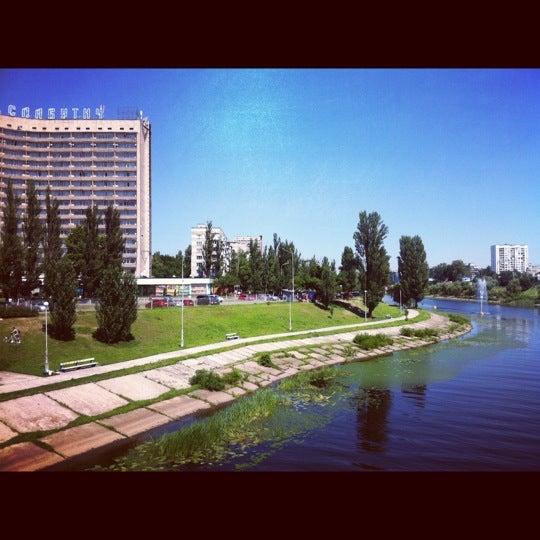 6/17/2012 tarihinde Anuta S.ziyaretçi tarafından Готель «Славутич»  / Slavutych Hotel'de çekilen fotoğraf