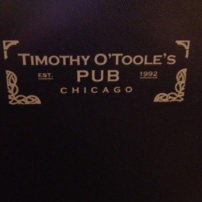 7/28/2012에 Meghan M.님이 Timothy O'Toole's Chicago에서 찍은 사진