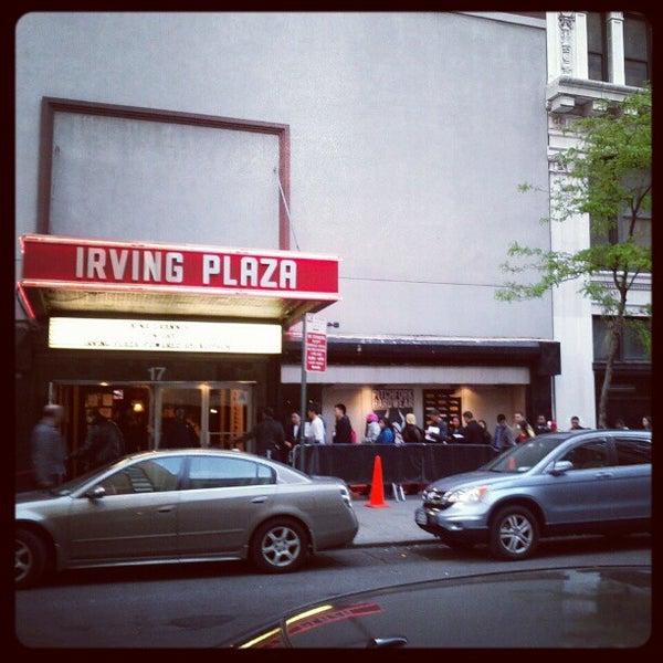 Das Foto wurde bei Irving Plaza von Marques S. am 4/25/2012 aufgenommen
