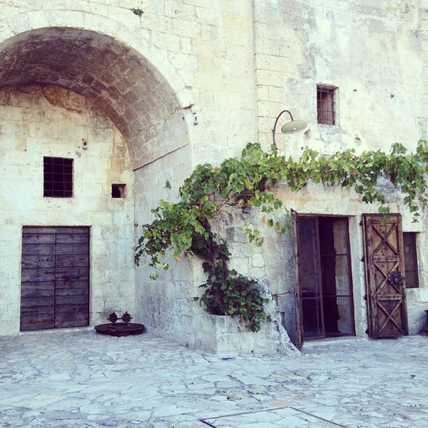 Снимок сделан в Sextantio | Le Grotte della Civita пользователем Zander M. 8/27/2012