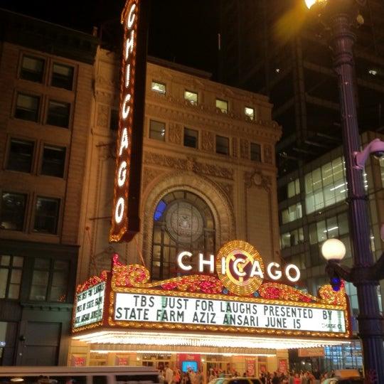 6/16/2012에 Daniel P.님이 The Chicago Theatre에서 찍은 사진