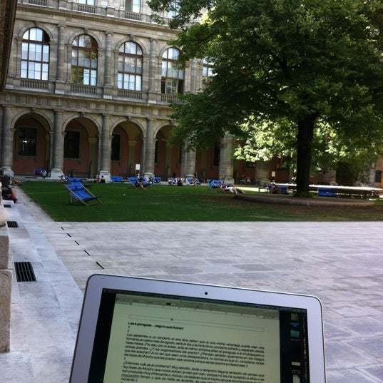 Foto tomada en Universität Wien por Julio P. el 8/22/2012