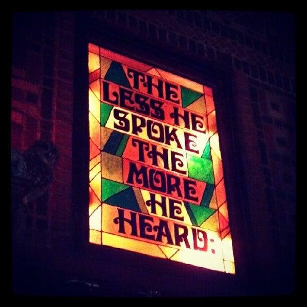 Снимок сделан в The Owl Bar пользователем AK S. 8/22/2012
