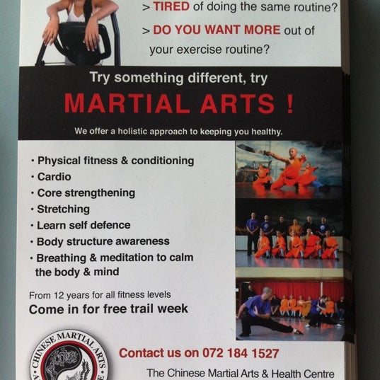 Photos at Chinese Martial Arts And Health Centre - Martial