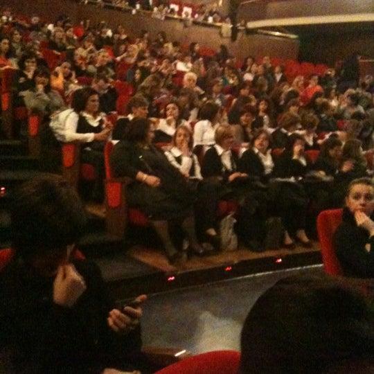 Снимок сделан в Teatro Franco Parenti пользователем Laura B. 4/20/2012