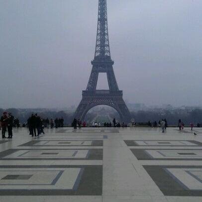 Photo prise au Place du Trocadéro par A A. le3/2/2012