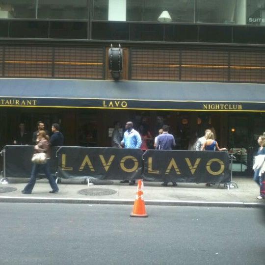 4/14/2012 tarihinde Andre S.ziyaretçi tarafından Lavo'de çekilen fotoğraf