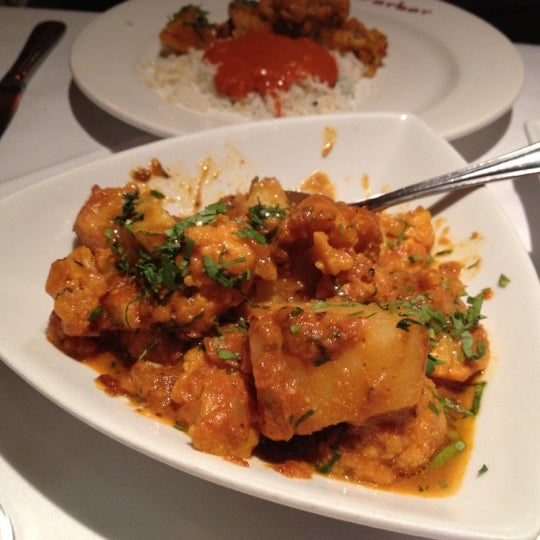 Aloo gobi is a yummy vegetable side dish