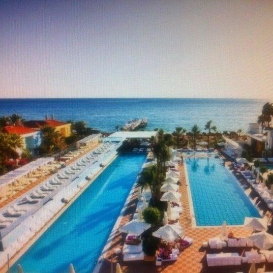 9/13/2012 tarihinde Катяziyaretçi tarafından Q Premium Resort Hotel Alanya'de çekilen fotoğraf