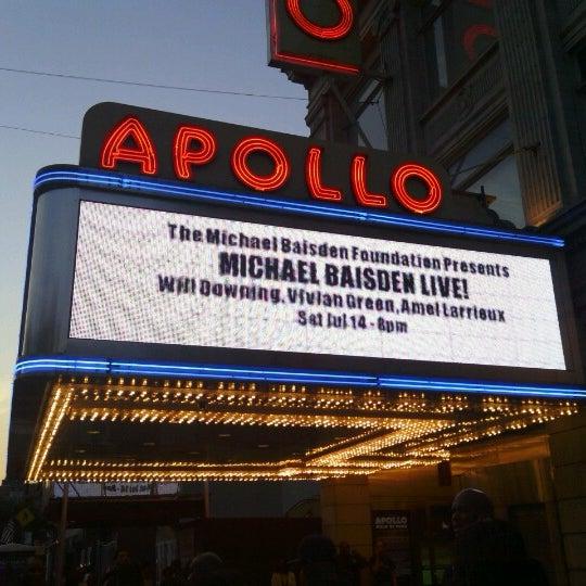 7/13/2012 tarihinde Ernest A.ziyaretçi tarafından Apollo Theater'de çekilen fotoğraf