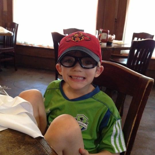 Photo taken at Mandina's Restaurant by Doug S. on 5/7/2012