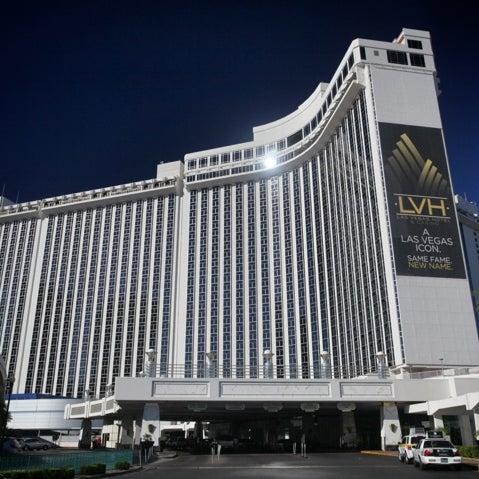 Снимок сделан в LVH - Las Vegas Hotel & Casino пользователем Rhys W. 6/30/2012