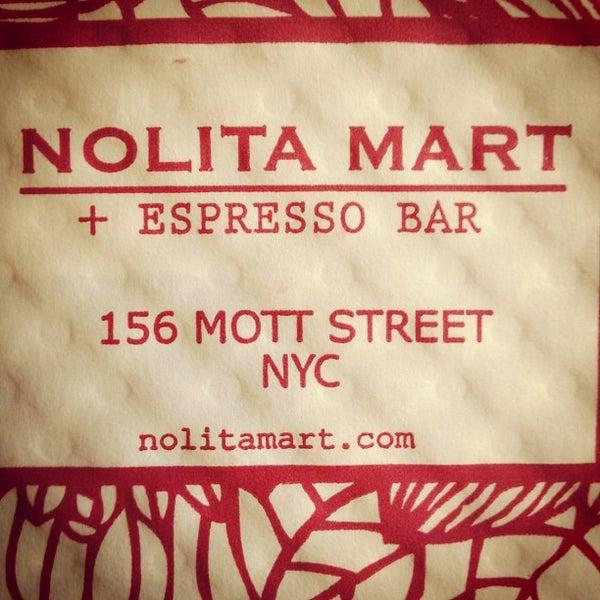 4/21/2012にPau S.がNolita Mart & Espresso Barで撮った写真
