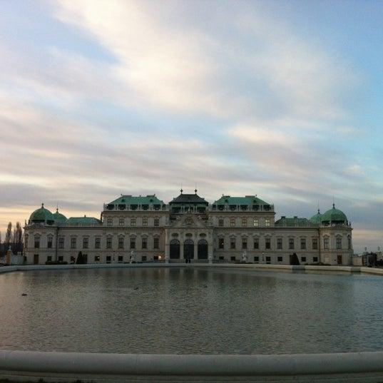 3/27/2012 tarihinde Lucia P.ziyaretçi tarafından Oberes Belvedere'de çekilen fotoğraf
