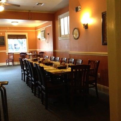 Photo taken at Mandina's Restaurant by David on 7/28/2012