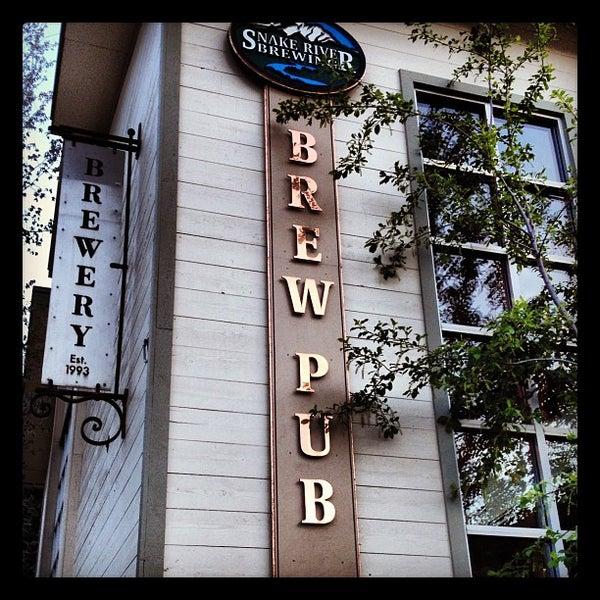 Das Foto wurde bei Snake River Brewery & Restaurant von Zeke S. am 5/22/2012 aufgenommen