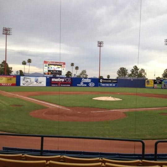 Photo prise au Cashman Field par Hellen le8/31/2012
