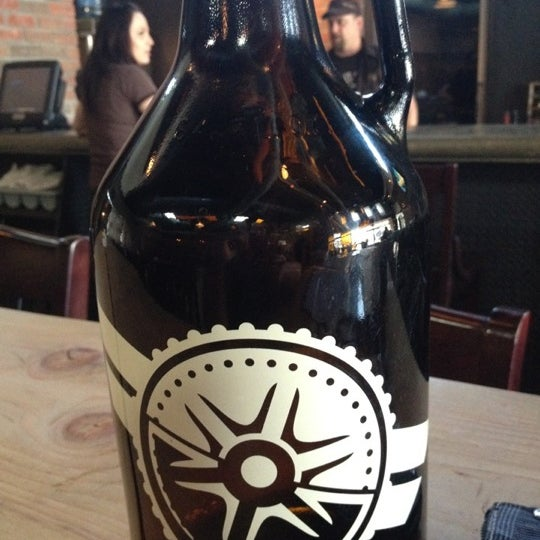 Buy a growler to take home, bring it back for refills