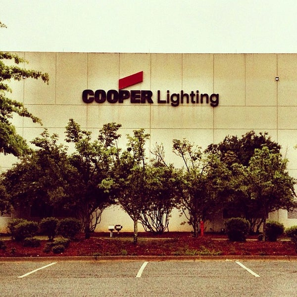Eaton S Cooper Lighting Business Peachtree City Ga