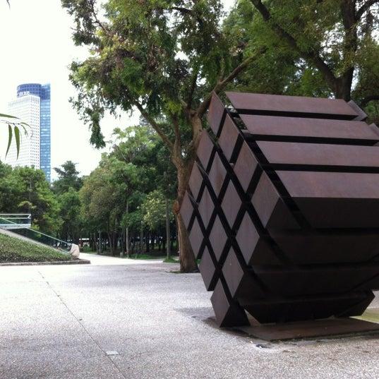Foto diambil di Museo Tamayo oleh Rodrigo G. pada 7/23/2012