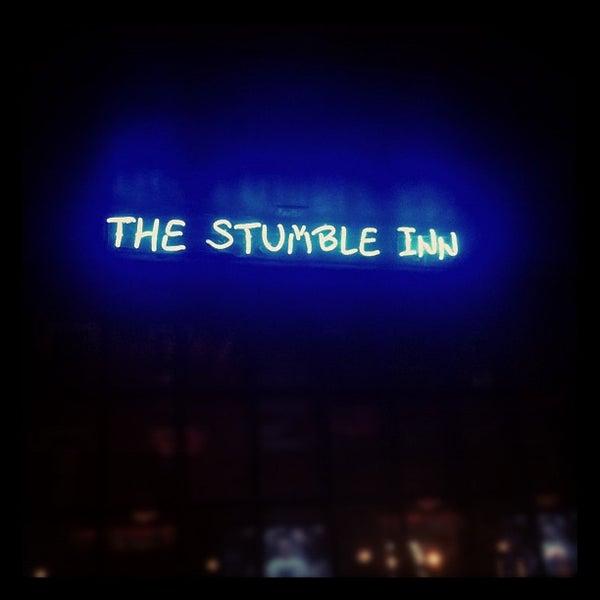 Das Foto wurde bei The Stumble Inn von Daniel G. am 2/9/2012 aufgenommen