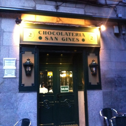Photo prise au Chocolatería San Ginés par KokWow (. le3/8/2012