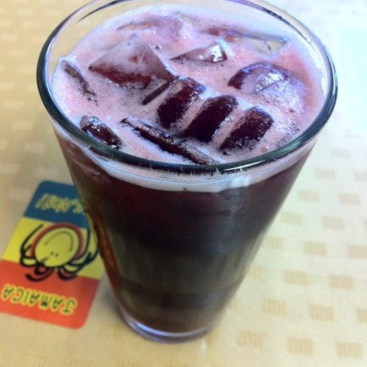 Besides Ginger Beer they serve great tasting Sorrel
