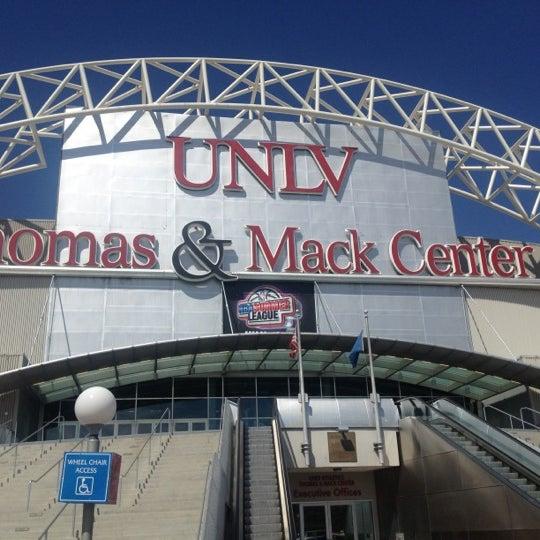 Das Foto wurde bei Thomas & Mack Center von Jason B. am 7/21/2012 aufgenommen
