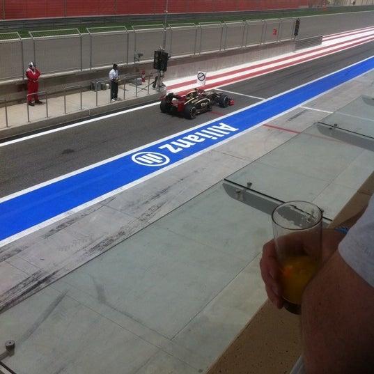 Foto scattata a Bahrain International Circuit da Omar A. il 4/21/2012