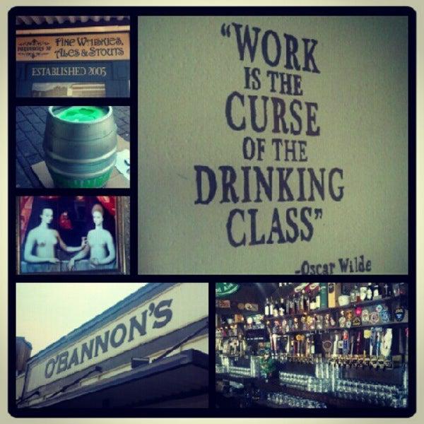 Foto scattata a Obannon's Tap House da Beer P. il 7/19/2012