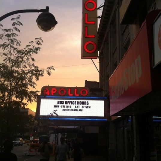 8/3/2012 tarihinde Shaemekia J.ziyaretçi tarafından Apollo Theater'de çekilen fotoğraf
