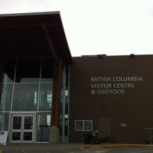 Foto diambil di British Columbia Visitor Centre @ Osoyoos oleh Margaret D. pada 7/14/2012