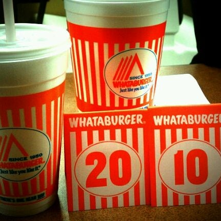 a66427bf37e Photo taken at Whataburger by ToeKneeEFF on 3 27 2012