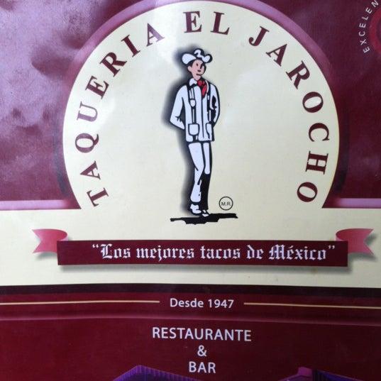 Foto diambil di Taquería El Jarocho oleh Erick G. C. pada 4/28/2012