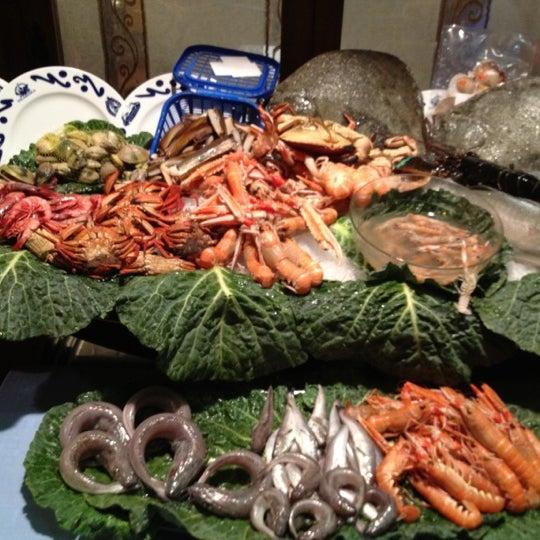 Das Foto wurde bei Restaurante Salamanca von Manny L. am 7/4/2012 aufgenommen