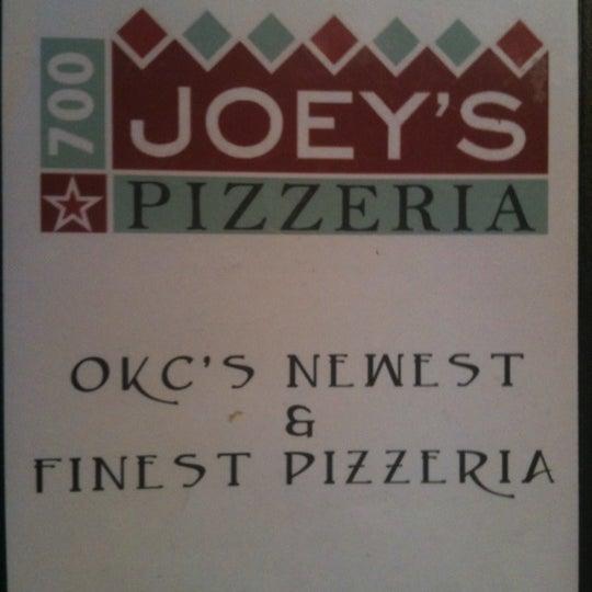 8/11/2012にPaula M.がJoey's Pizzeriaで撮った写真