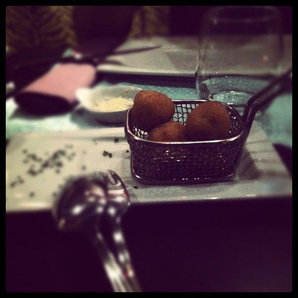 Снимок сделан в Restaurante Lakasa пользователем Jaime V. 5/19/2012