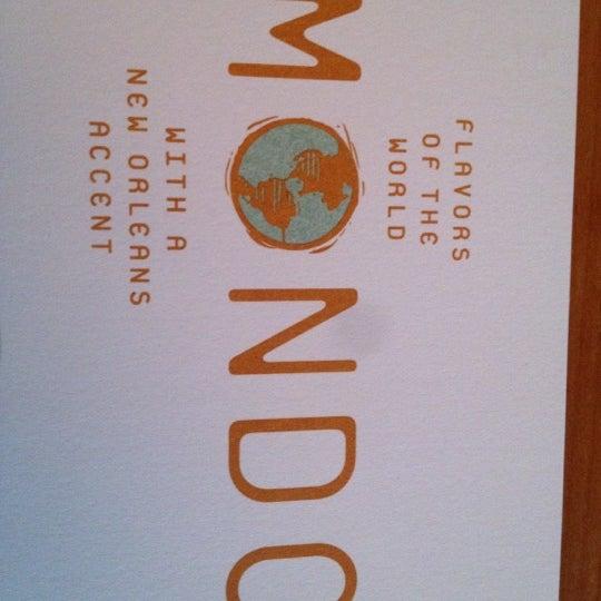 Снимок сделан в Mondo пользователем Olivia C. 5/20/2012
