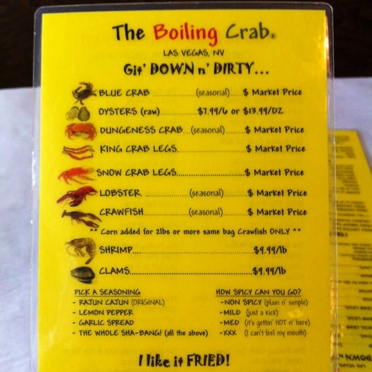 The Boiling Crab - 4025 S Decatur Blvd