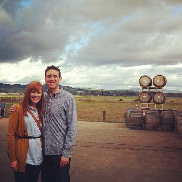 Das Foto wurde bei Larson Family Winery von Blake P. am 2/11/2012 aufgenommen
