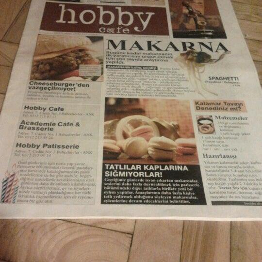 Снимок сделан в Hobby Cafe пользователем Nadide 6/28/2012