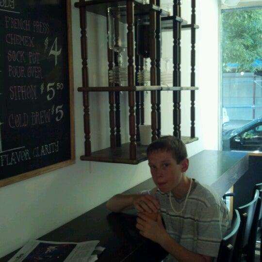 Photo prise au WTF Coffee Lab par John P. le6/30/2012