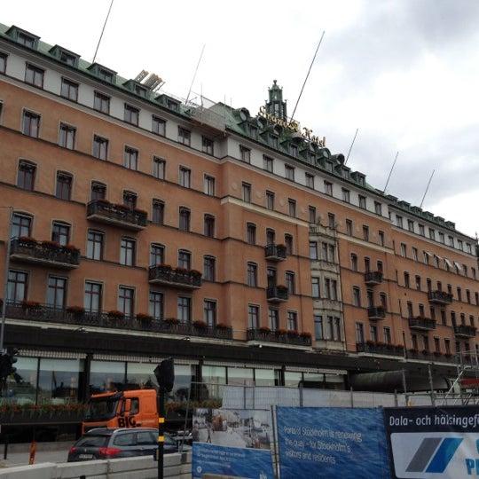 Снимок сделан в Grand Hôtel Stockholm пользователем Johan B. 7/13/2012