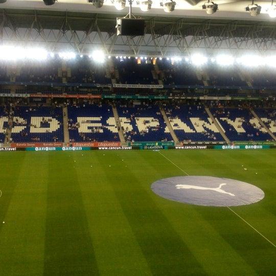 Foto diambil di RCDE Stadium oleh Ricardo M. pada 8/25/2012