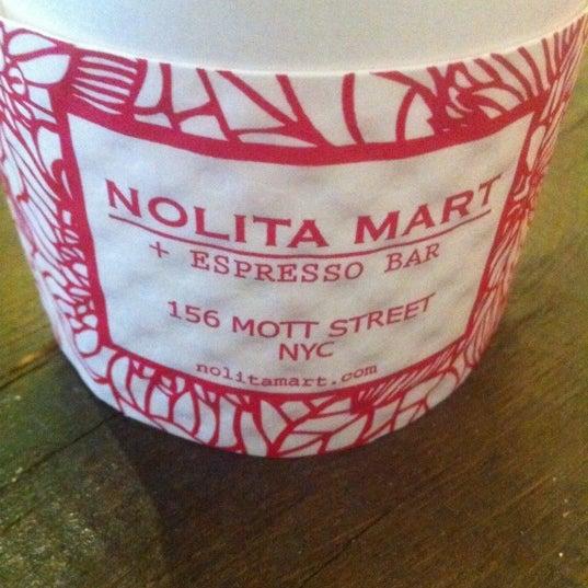 2/18/2012にPeter C.がNolita Mart & Espresso Barで撮った写真